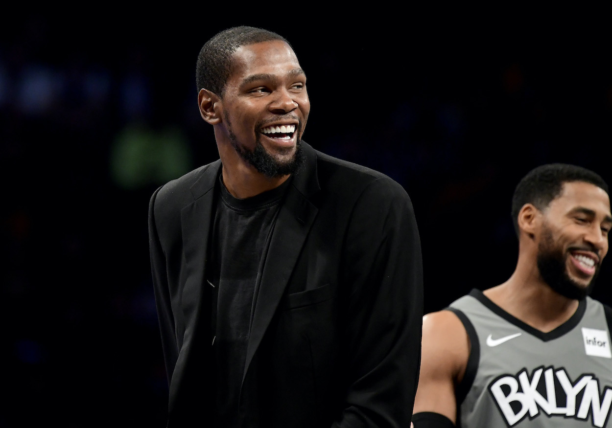 Kevin Durant's Lucrative Business Venture Just Gave Him a $100 Billion Reason to Smile
