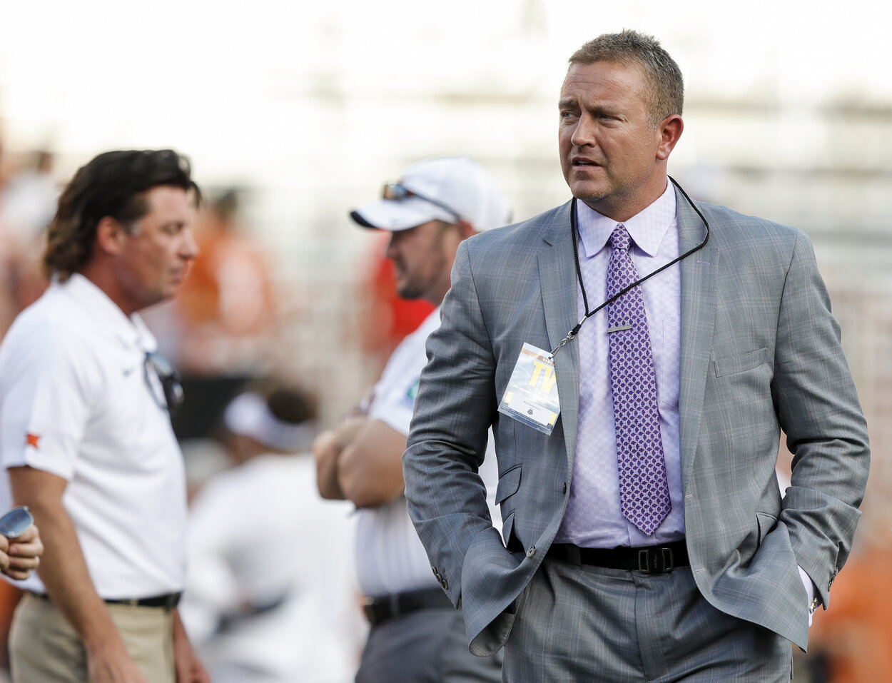 Former Ohio State quarterback and ESPN commentator Kirk Herbstreit in 2019.