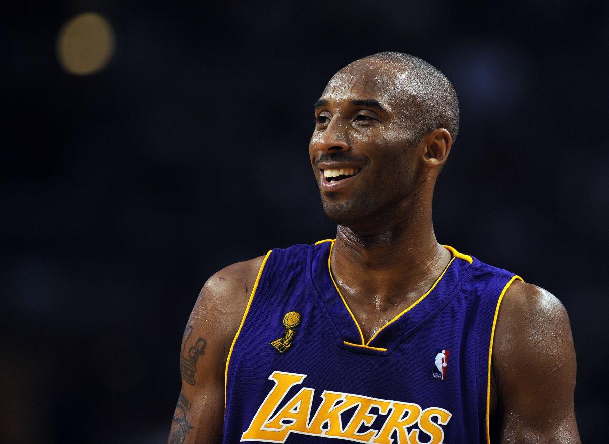Former NBA and LA Lakers legend Kobe Bryant.