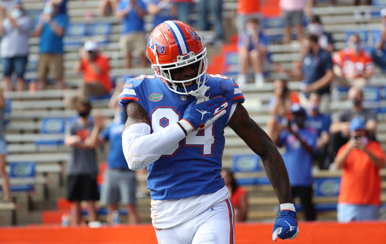 Former Florida Gators tight end Kyle Pitts is among the 2021 NFL draft's top prospects.