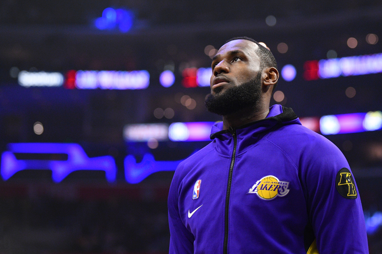 LeBron James Uses 1 Tweet to Prove He Couldn't Care Less About an Angry Business Owner From His Home State