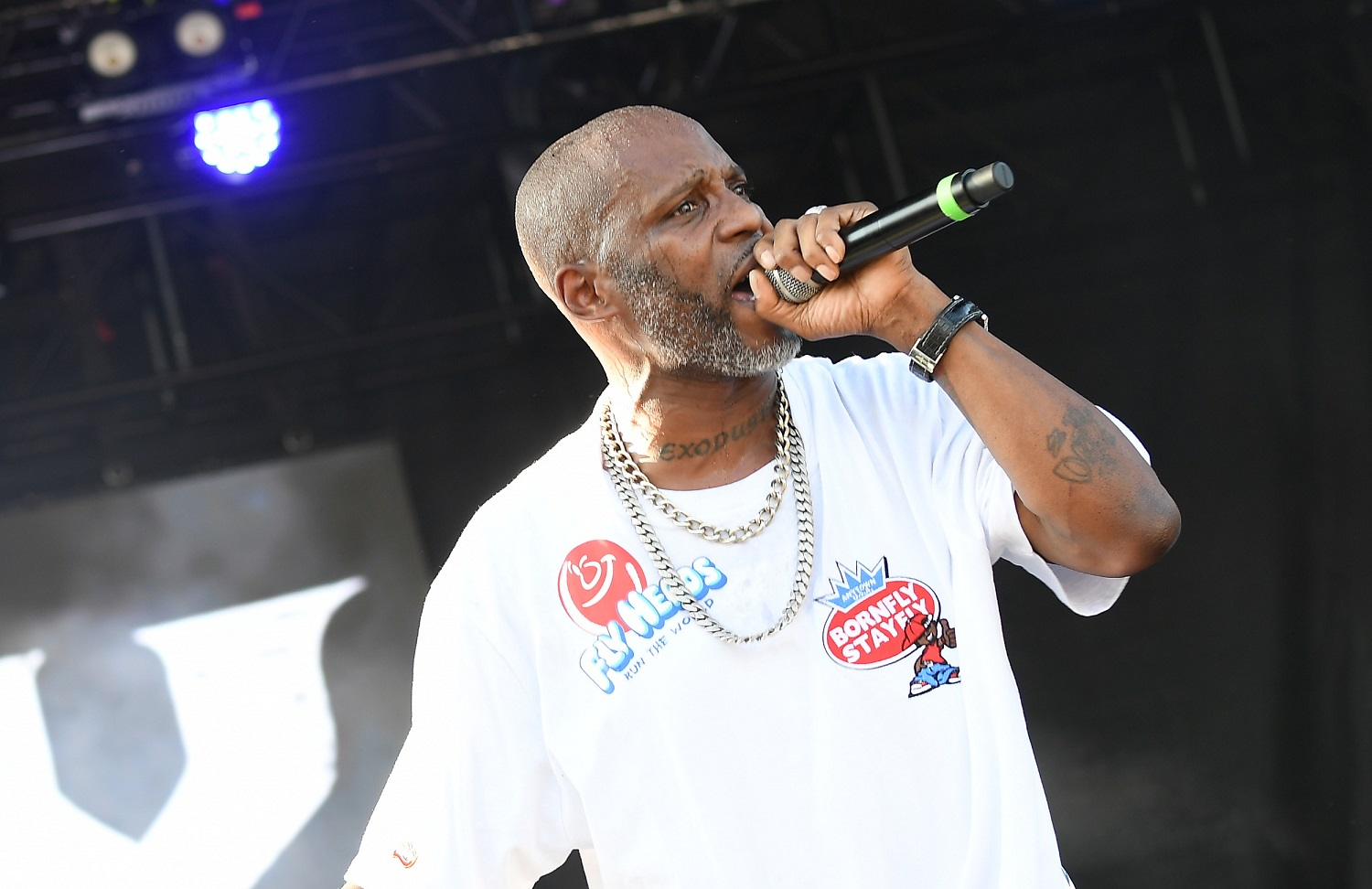 Rapper DMX was an influence on LeBron James' early life