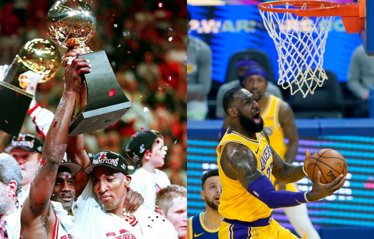 Scottie Pippen Picked LeBron James Over Michael Jordan at a Very Early Point in James' Career