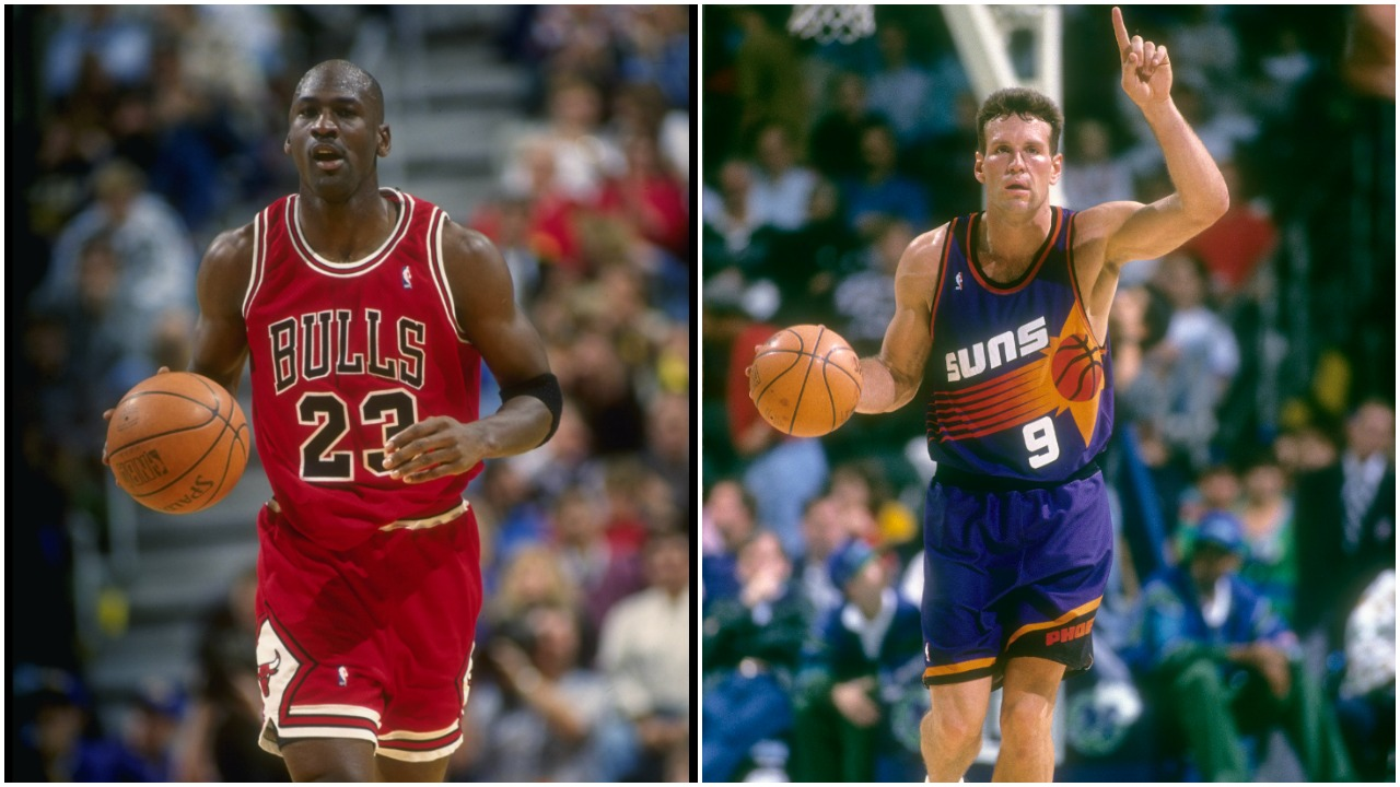 Michael Jordan Dan Majerle