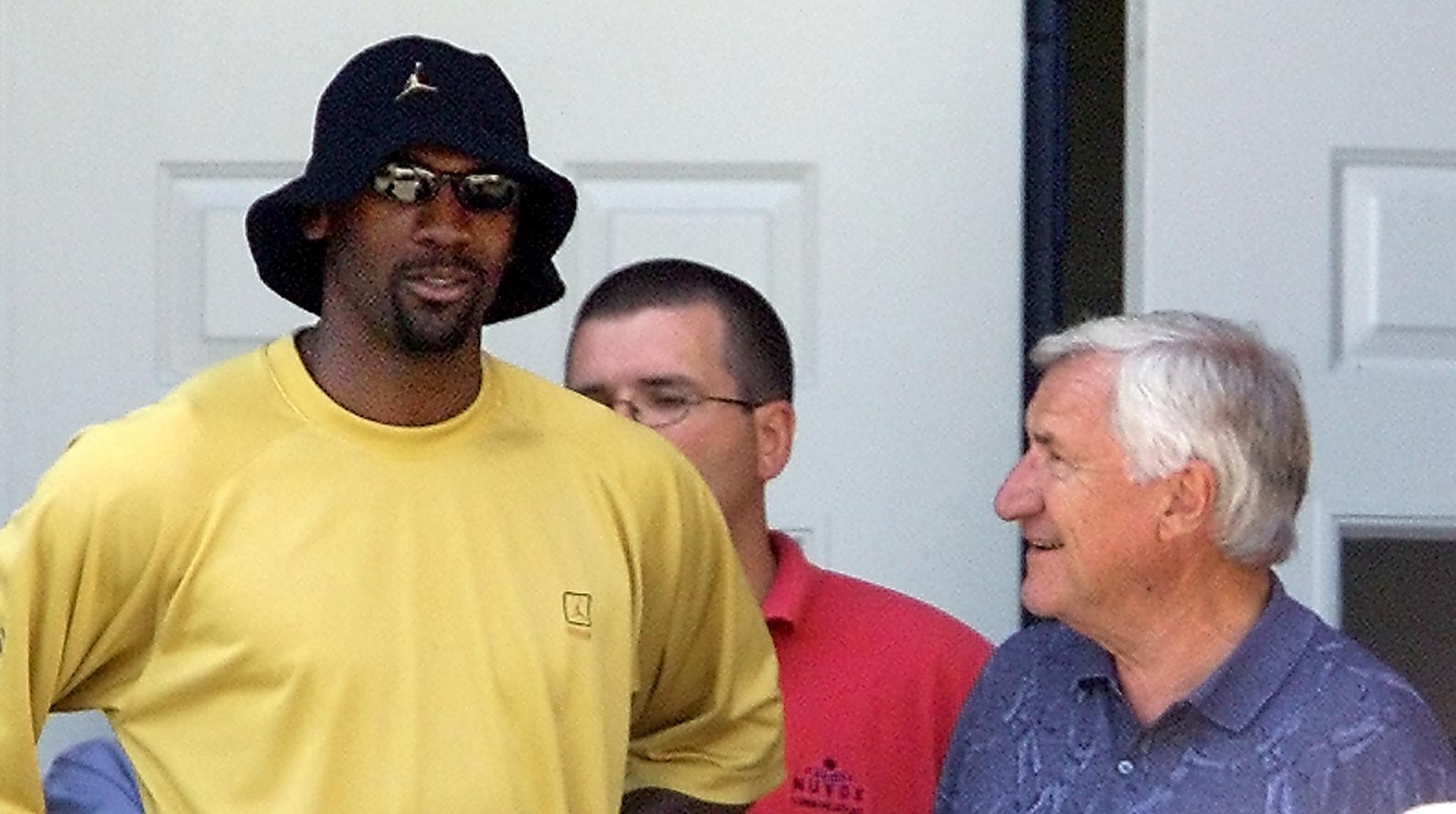Michael Jordan Had 1 Small Problem With UNC Coach Dean Smith