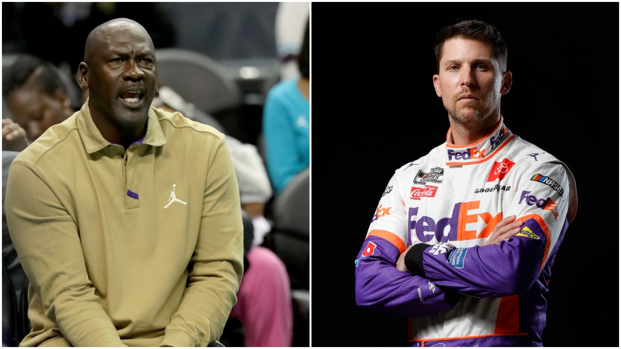Michael Jordan Once Told 23XI Racing Partner Denny Hamlin He Should Have Wrecked Kevin Harvick to Win a Race