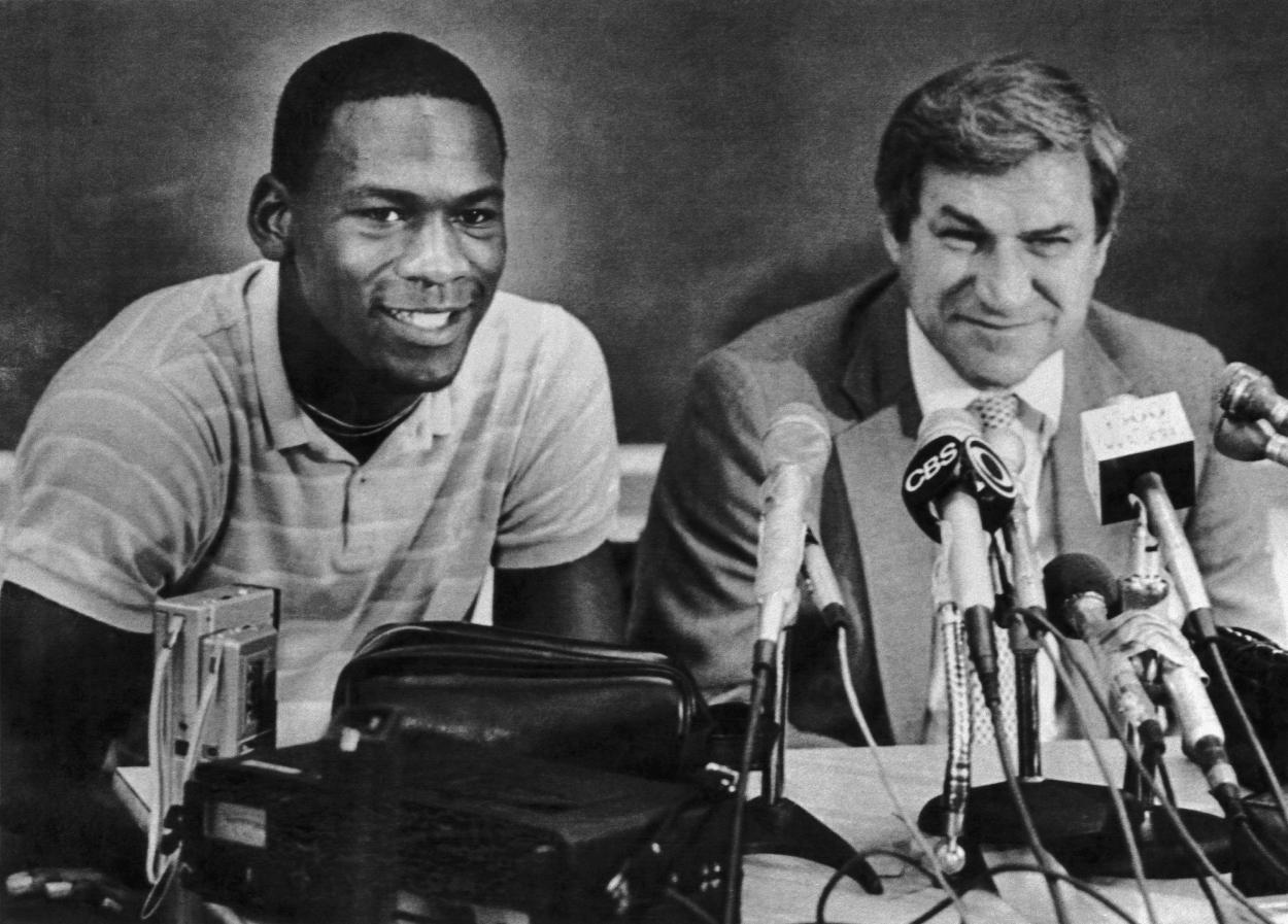 Michael Jordan's $1,894 Transcript Reveals He Played Another Sport at UNC