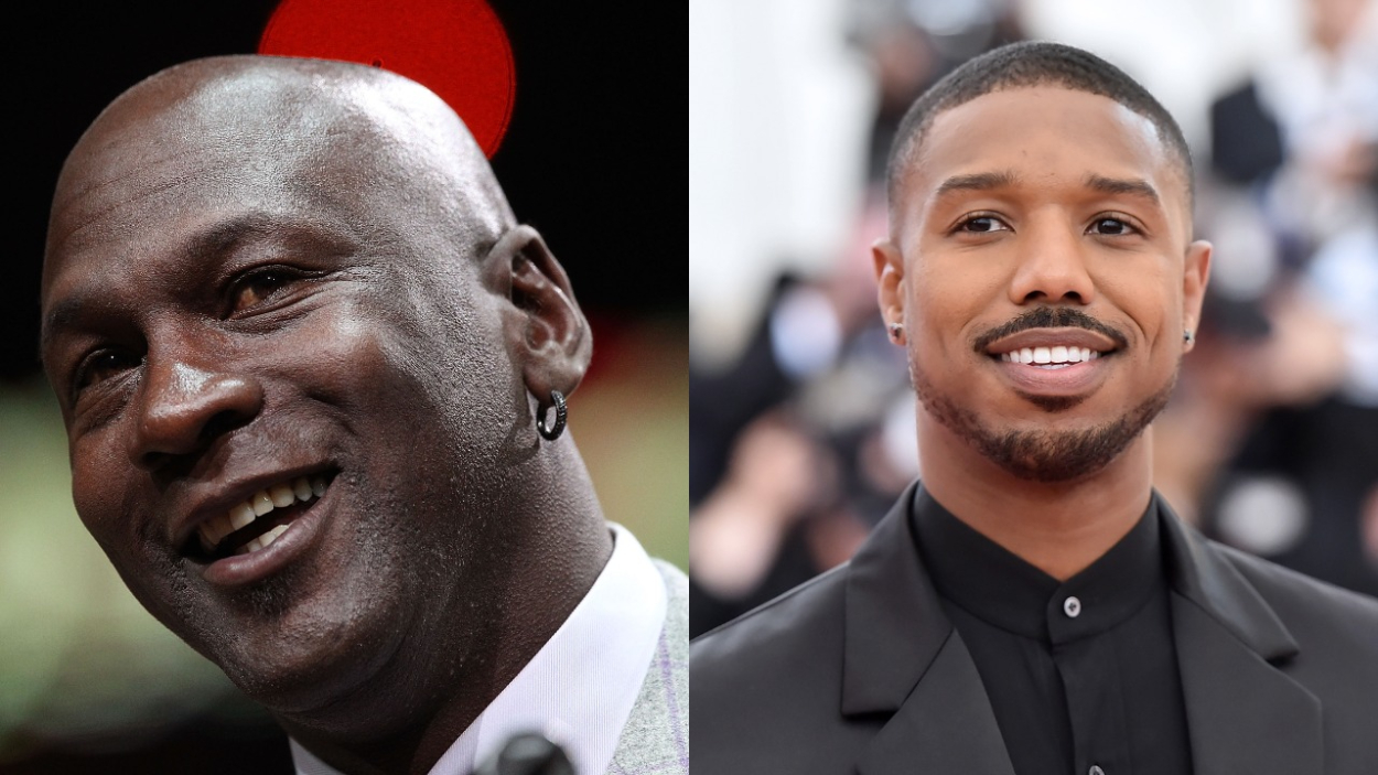 Michael Jordan Has Only Kind of Met Superstar Actor Michael B. Jordan: 'I Don't Even Think He Knew Who I Was'