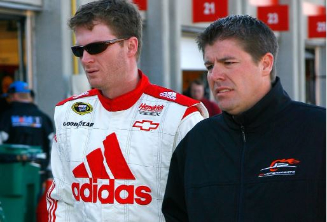 Who is Dale Earnhard Jr.'s right-hand man, Mike Davis?