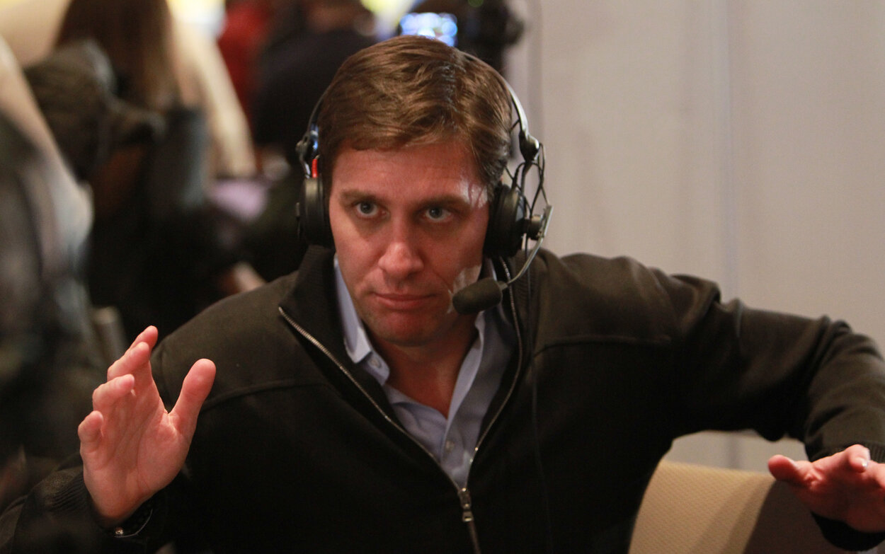 Mike Greenberg is hosting the 2021 NFL draft for ESPN.