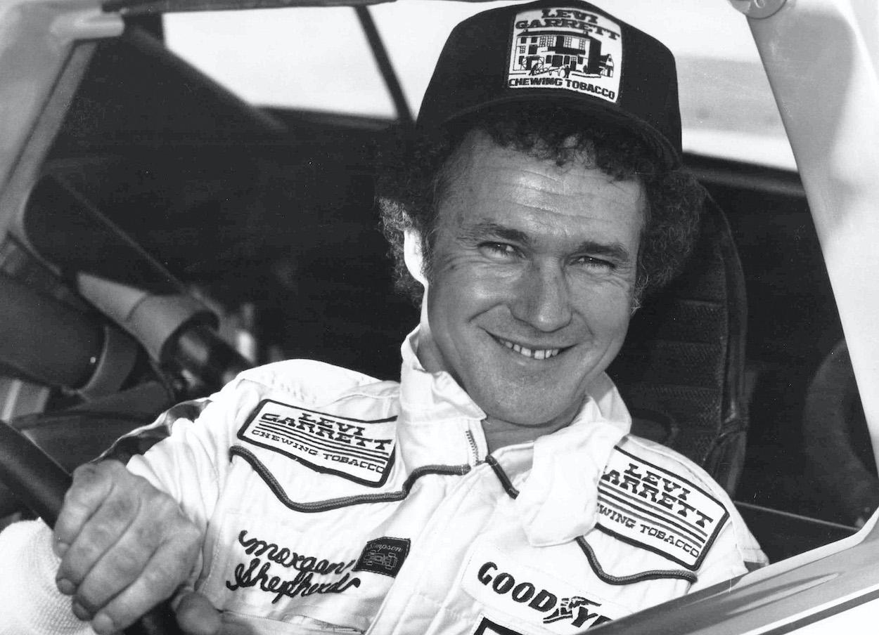Former NASCAR driver Morgan Shepherd