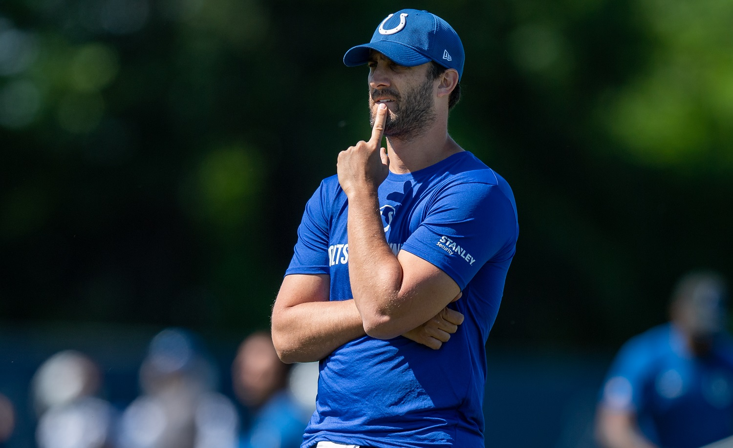 Nick Sirianni is heading into his first NFL draft as a head coach. | Zach Bolinger/Icon Sportswire via Getty Images