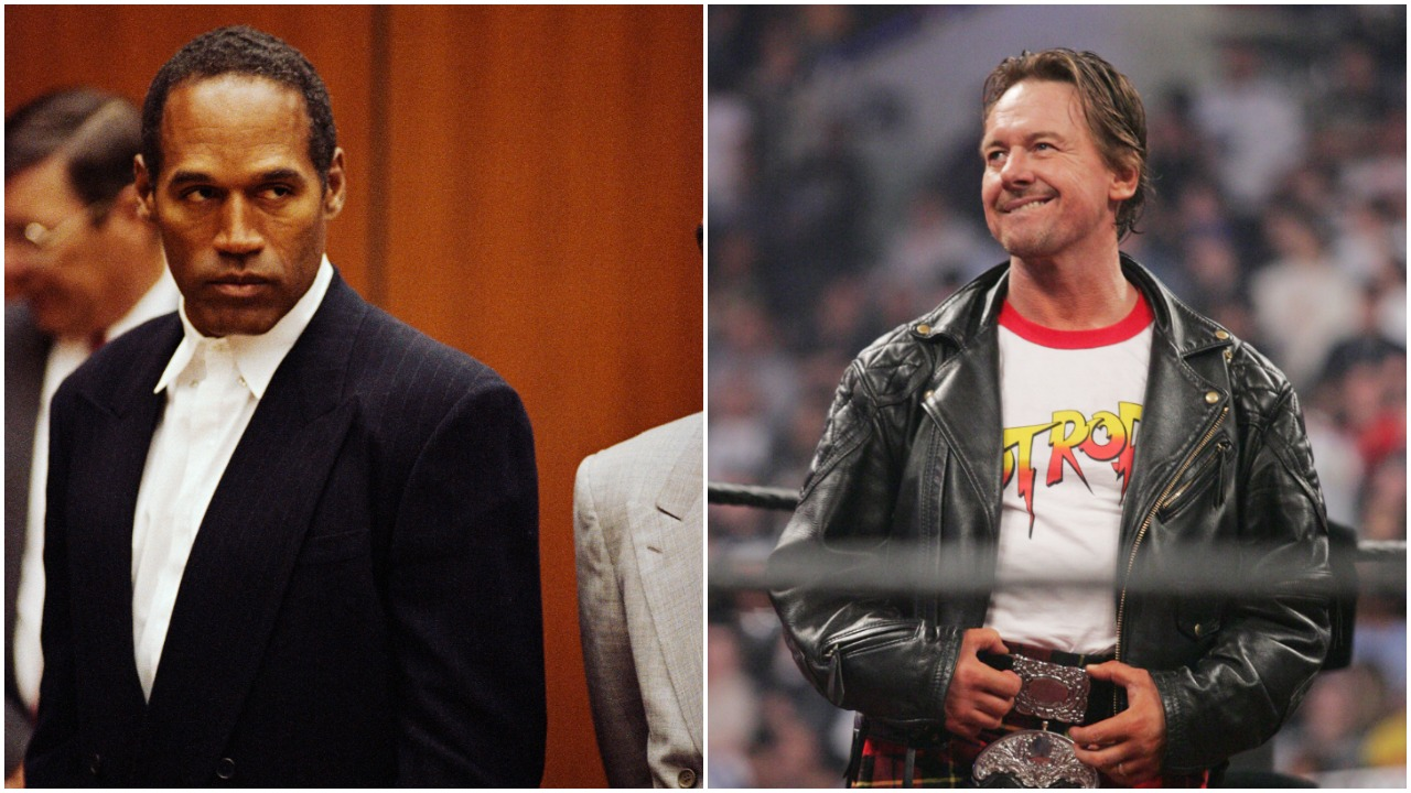 WWE Nearly Brought in O.J. Simpson For a High-Profile WrestleMania Match With Rowdy Roddy Piper Mere Months After He Was Acquitted of Murder