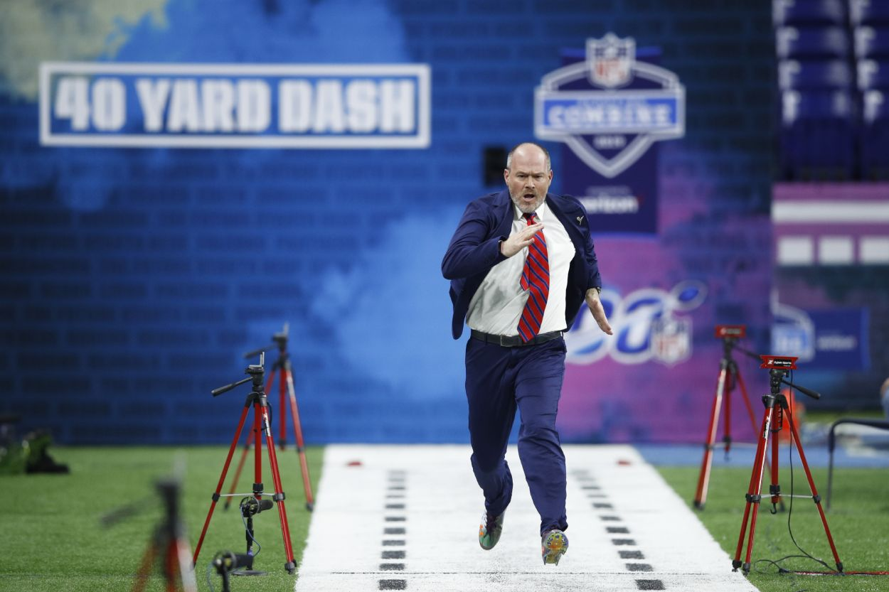 The San Francisco 49ers' $32.2 Million Choice Will Determine if NFL Network's Rich Eisen Suffers Through a Disgusting Meal