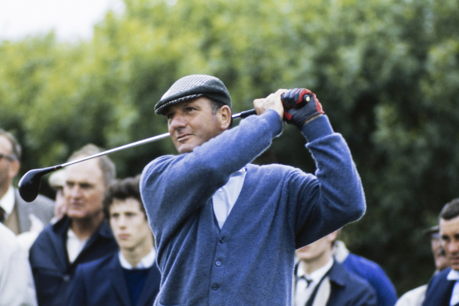 Roberto de Vicenzo at the 1969 Open Championship at Royal Lytham & St Annes. | Getty Images