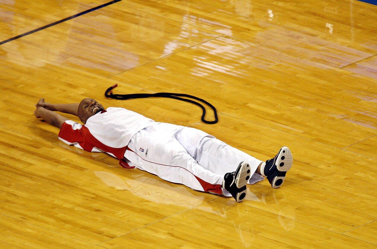 Former Miami Heat swingman Shandon Anderson in 2006