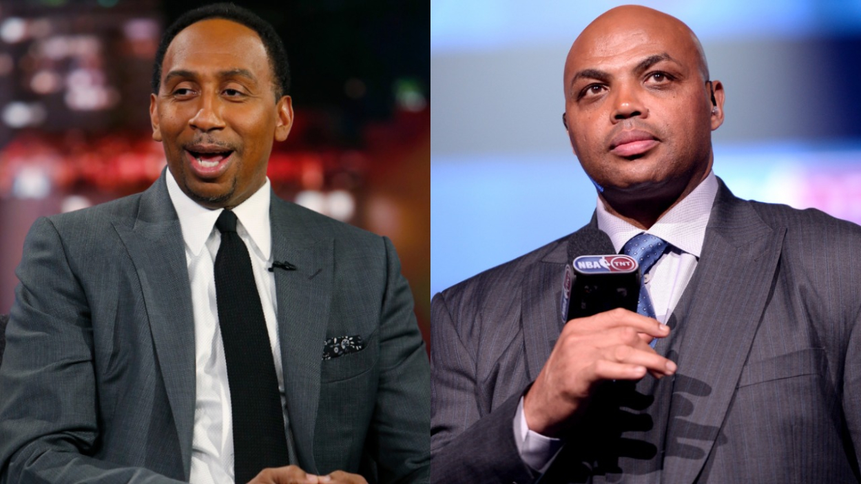 Stephen A. Smith Clowns Charles Barkley and His Recent Comments on National TV