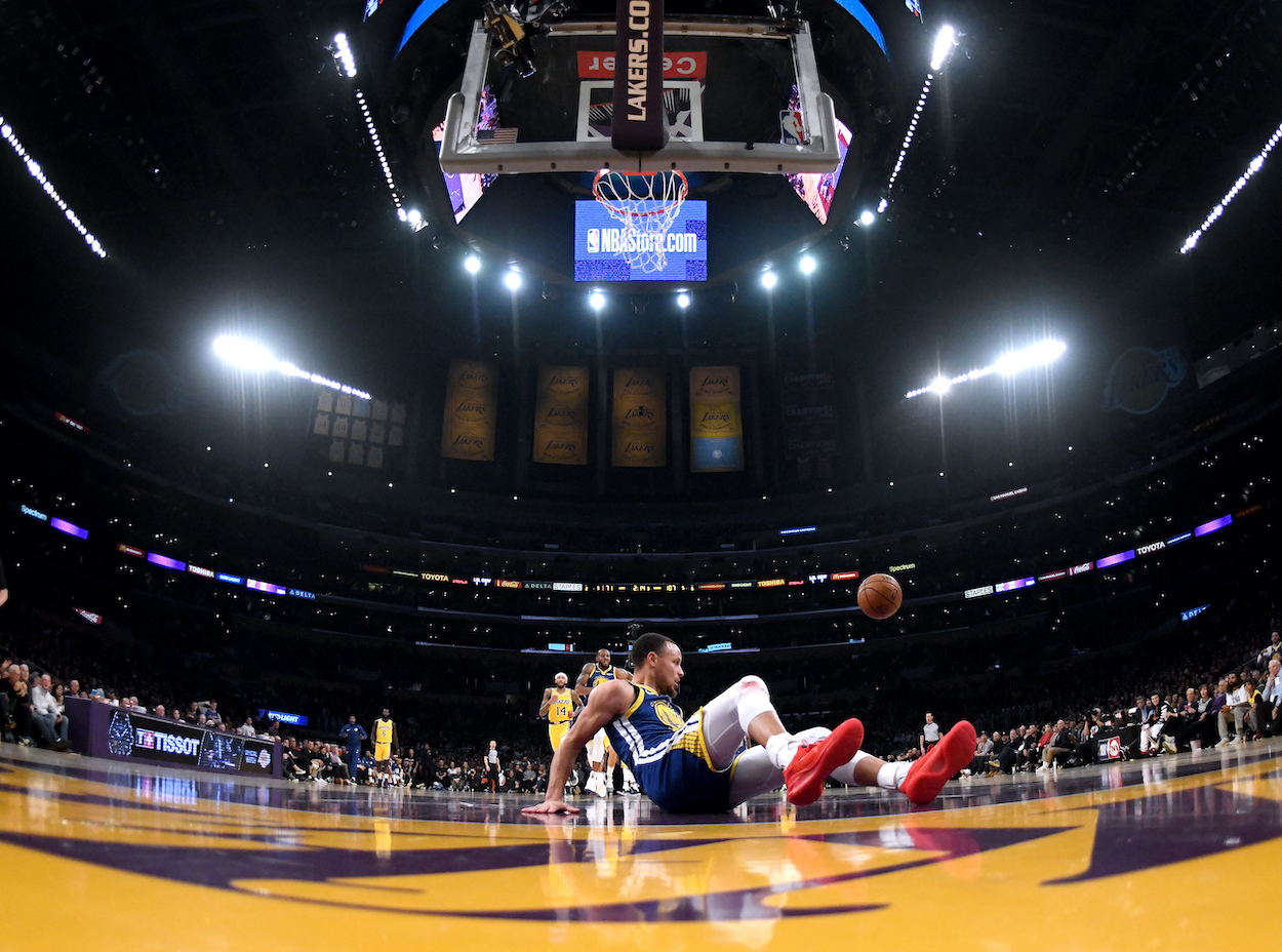 Stephen Curry Will Never Live Down the Most Humiliating 10 Seconds of His NBA Career: 'It Happens to the Best of Us'