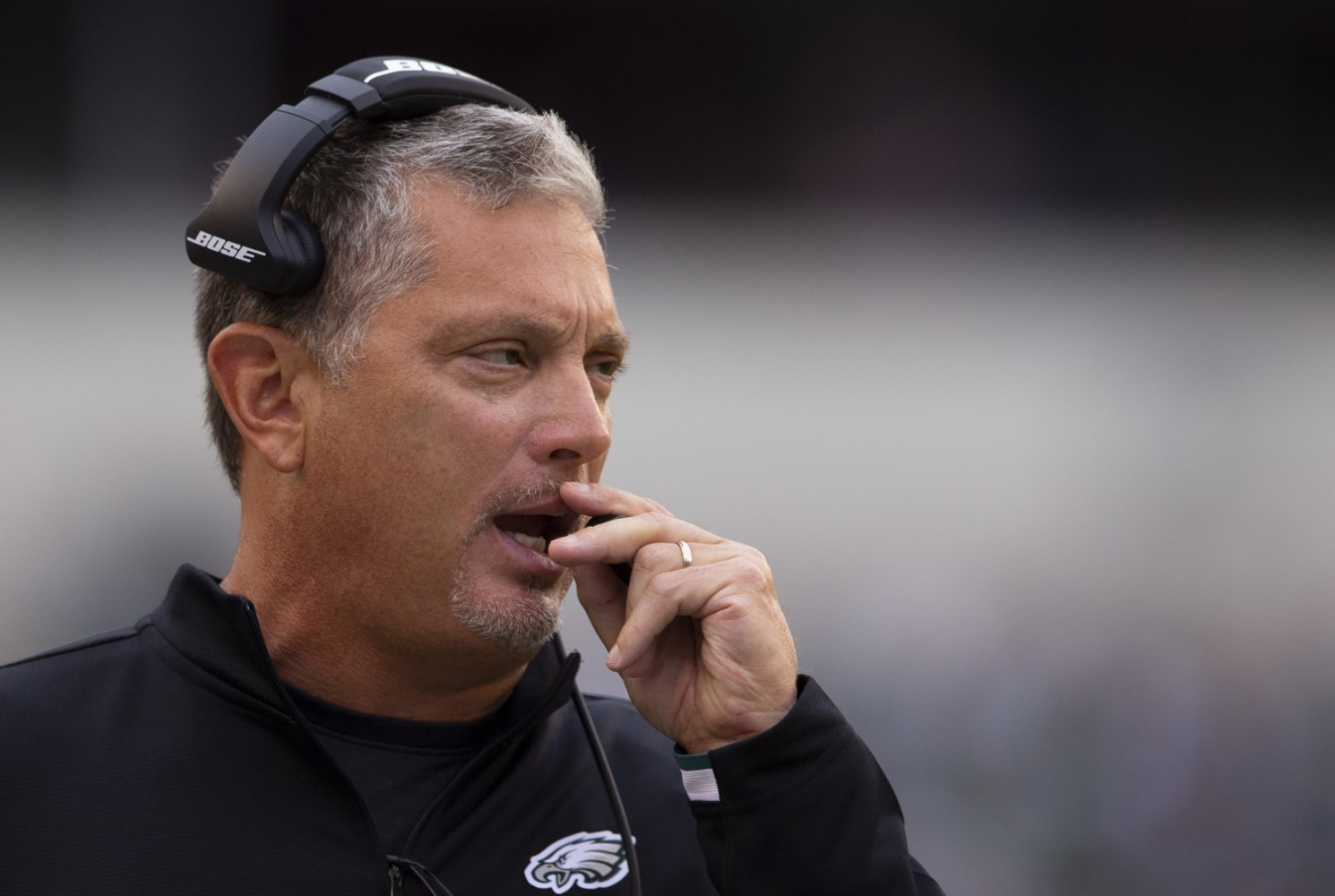 Jim Schwartz is joining the Tennessee Titans staff, but he isn't bringing the defensive coordinator title that he had with the Philadelphia Eagles the past five seasons. | Al Pereira/Getty Images
