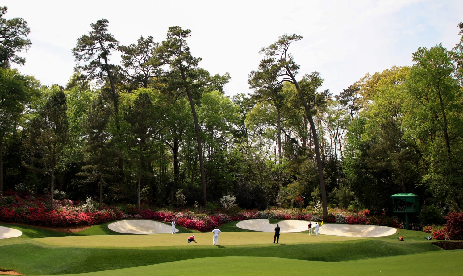 Augusta National Golf Club guards its financial information closely, but The Masters generates enormous money in a typical year. | Mike Ehrmann/Getty Images