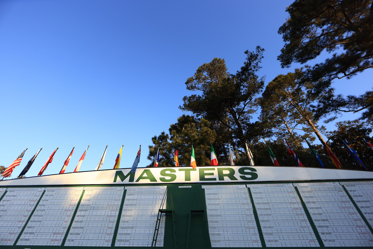 2021 Masters: Tee Times, Pairings, and TV Schedule for Augusta National