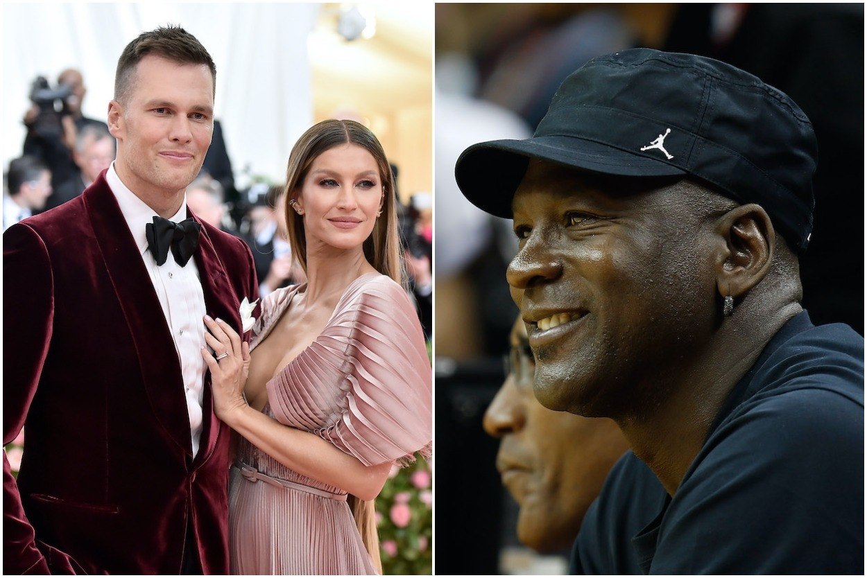 Michael Jordan has served as a special adviser for DraftKings since last September, and now Tom Brady's wife, Gisele Bunchen, is joining him.