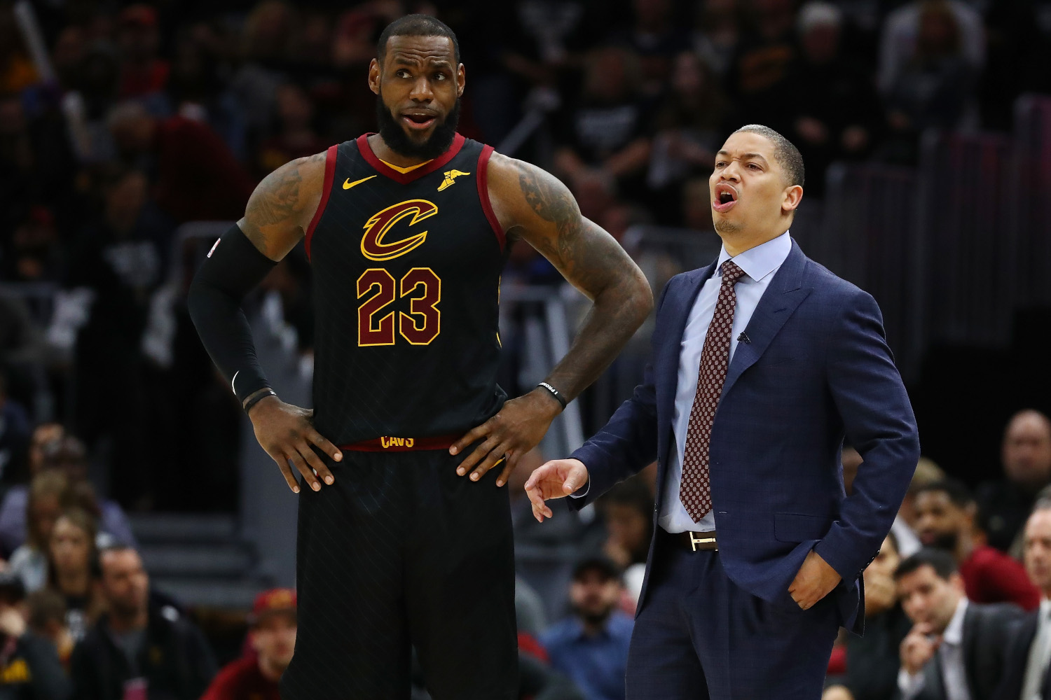 LA Clippers Coach Tyronn Lue Not Intimidated by Superstars; Just Ask LeBron James, Kyrie Irving