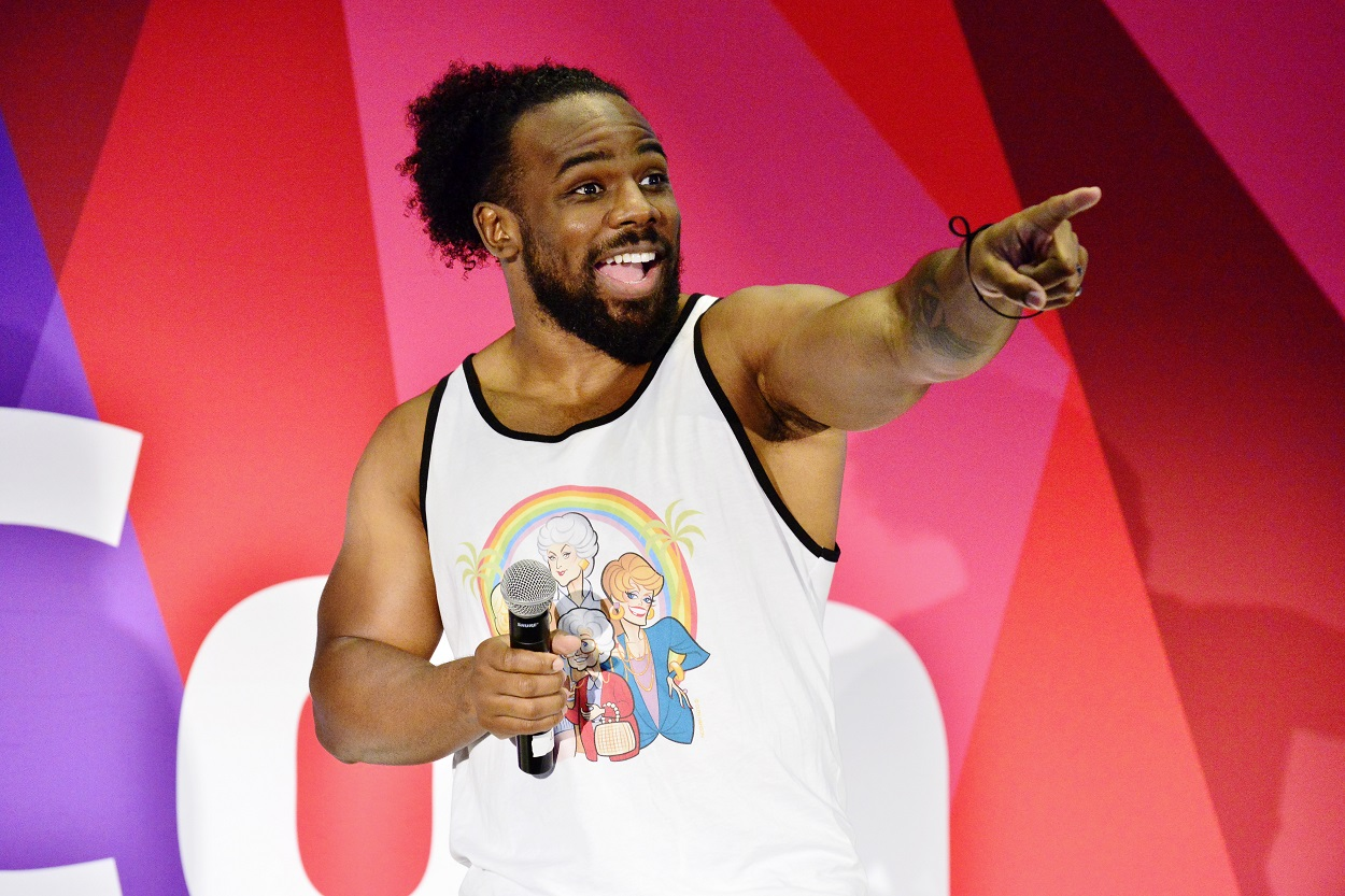 WWE Superstar Xavier Woods Discusses New Hosting Gig With G4, Having Fans Back in the Stands, and How Long He Wants to Keep Wrestling
