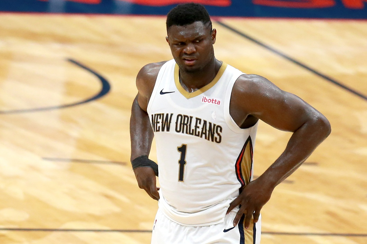 Zion Williamson Left Scratching His Head After a Former Knicks Star's Bizarre Criticism