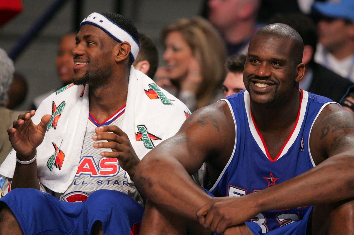 Shaquille O'Neal Got Destroyed by a Famous Comedian in a Packed Room With LeBron James in It