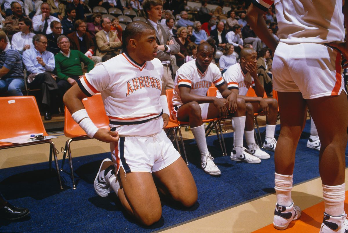 Charles Barkley Took $20,000 Under the Table While He Played At Auburn