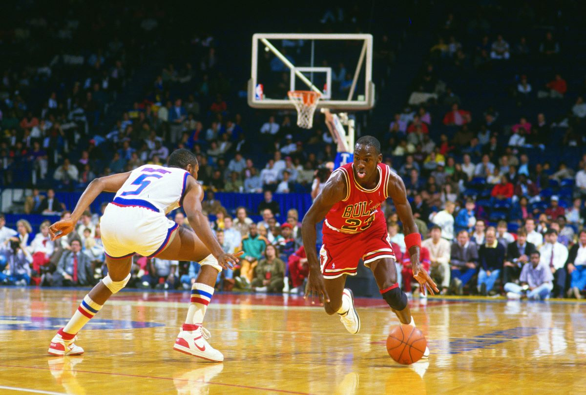 Michael Jordan Was Furious at Himself for Coming Up 2 Points Shy Of 45 Against a Player He Was 'Really Mad At'