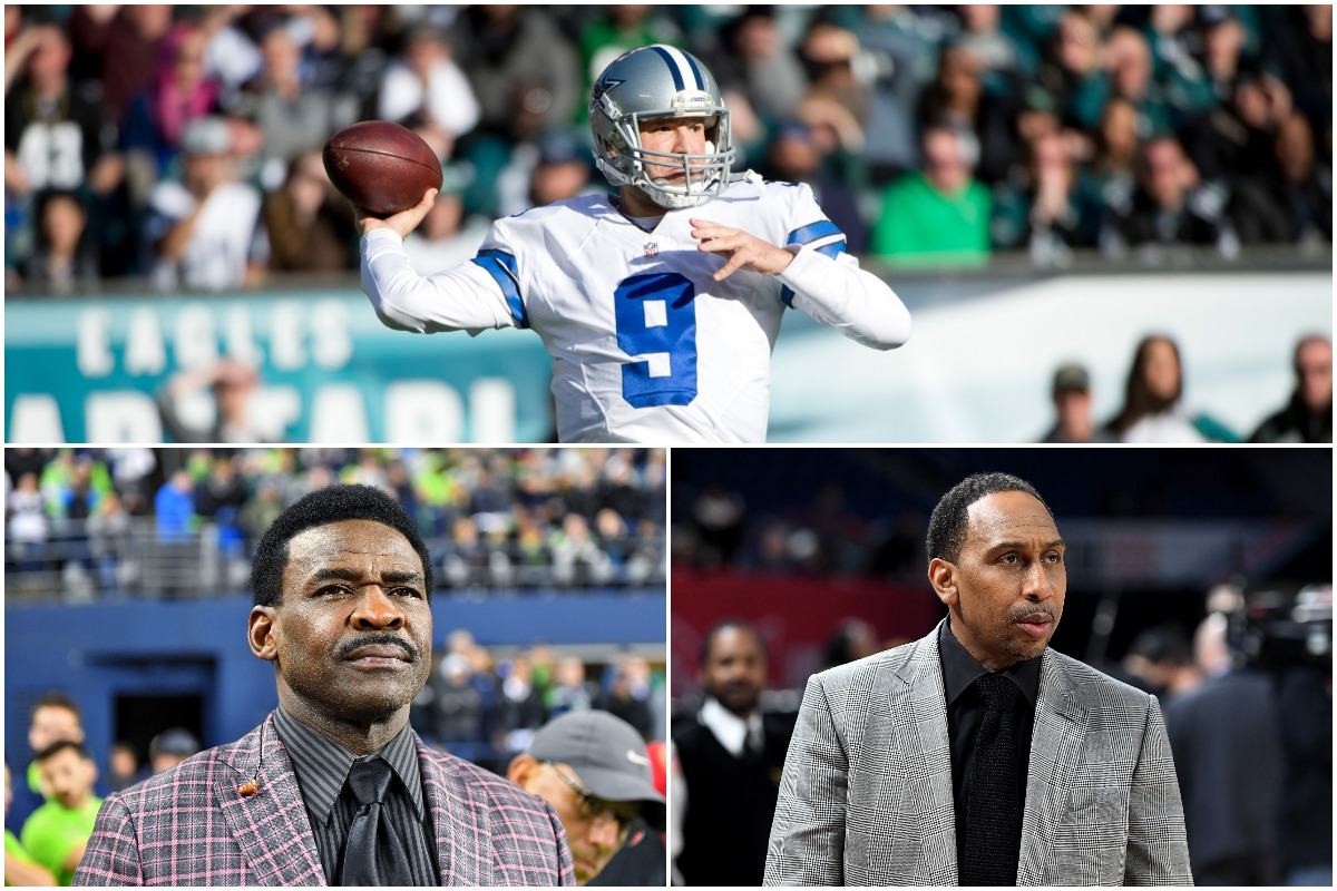 Michael Irvin's Praise of Tony Romo Made Stephen A. Smith Absolutely Lose His Mind on National TV: 'What Is Wrong With You?'