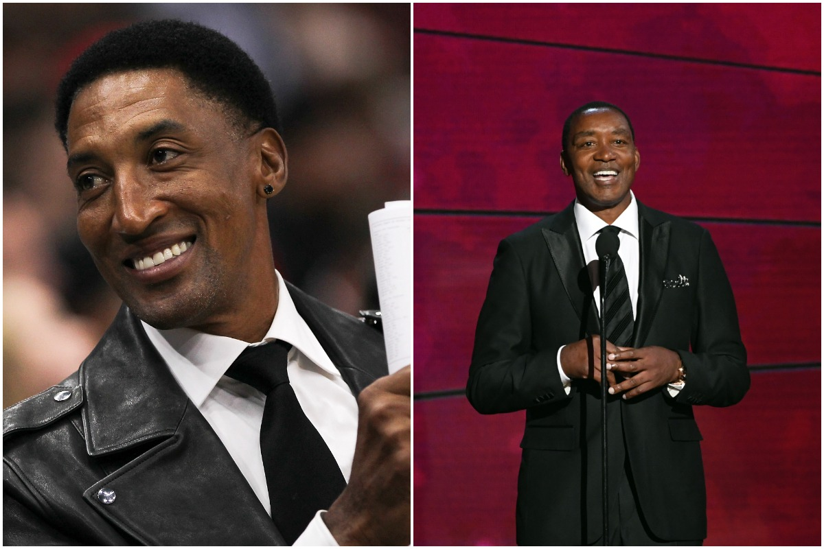 Scottie Pippen Annihilated Isiah Thomas in a Room Full Of Basketball Fans by Deeming Him Irrelevant In NBA History