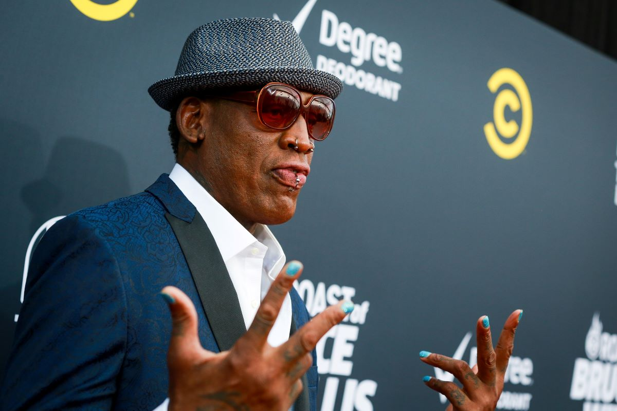 Dennis Rodman Hosting Parties 7 Days a Week for 7 Straight Years Landed Him in Jail Over 100 Times