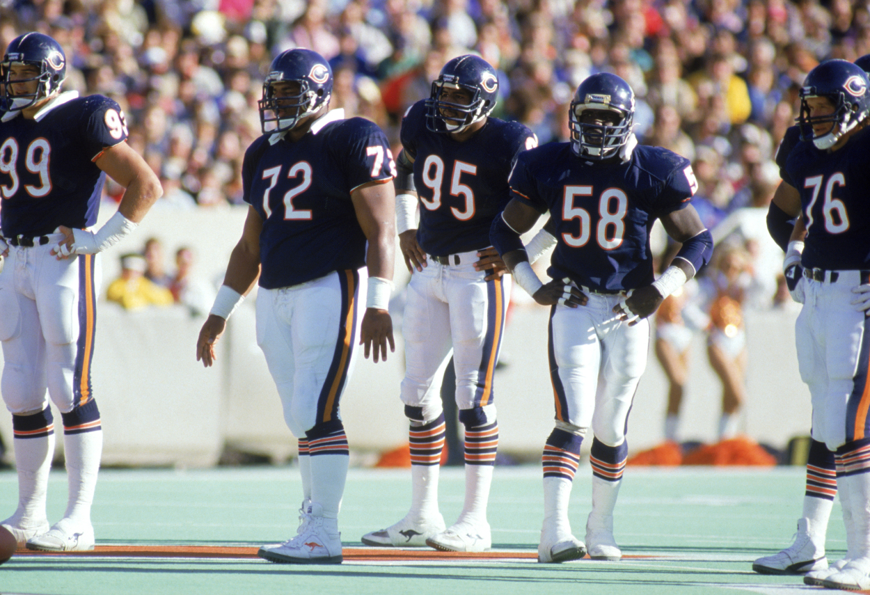 The 1985 Chicago Bears Just Notched Their Biggest Win Ever at Emotional Fundraiser for ALS-Stricken Teammate Steve McMichael