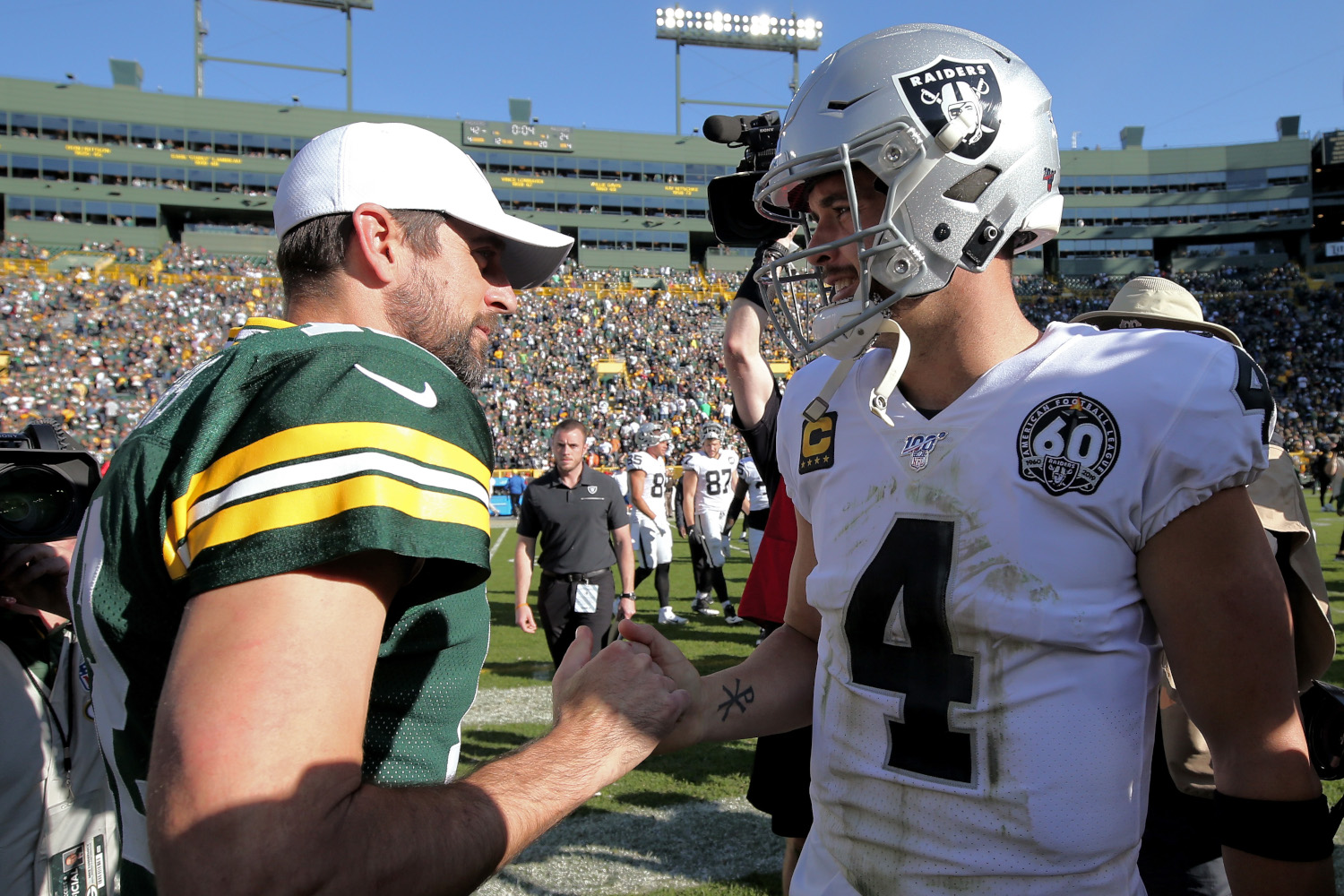 Aaron Rodgers would be the biggest sports star ever in Las Vegas