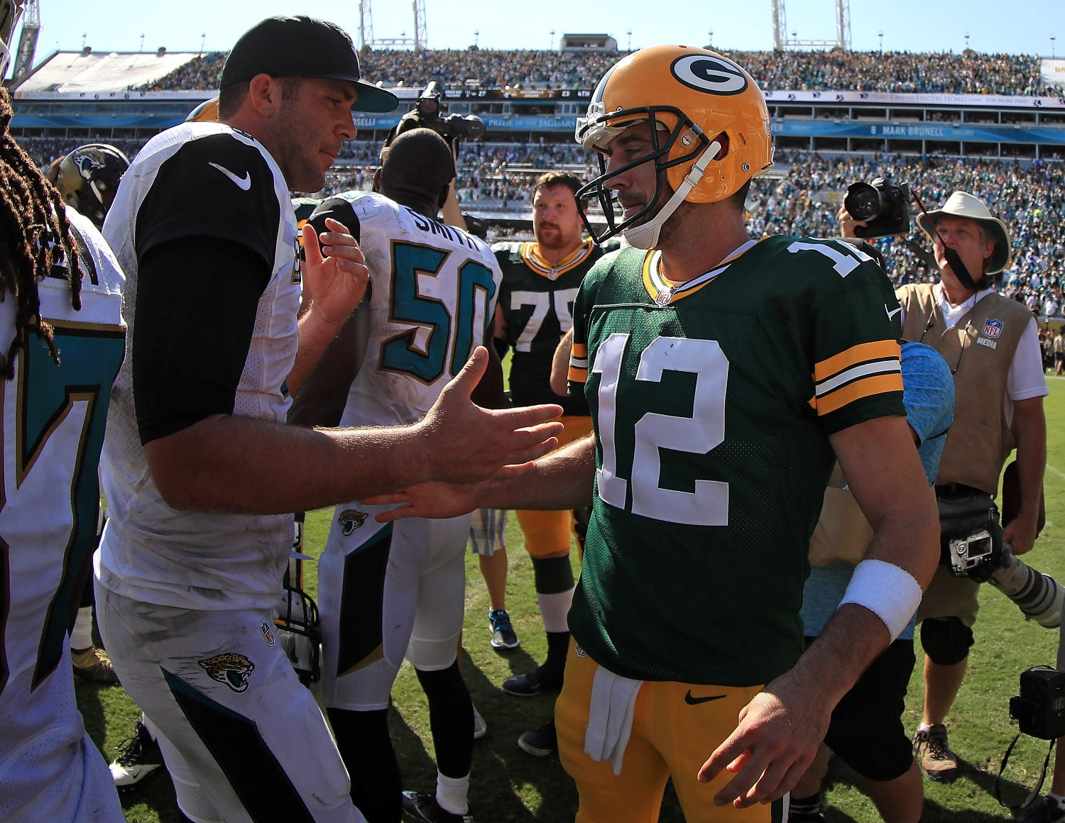 A Shocking Statistic Shows How Bad Things Have Gone for Aaron Rodgers and New Packers QB Blake Bortles