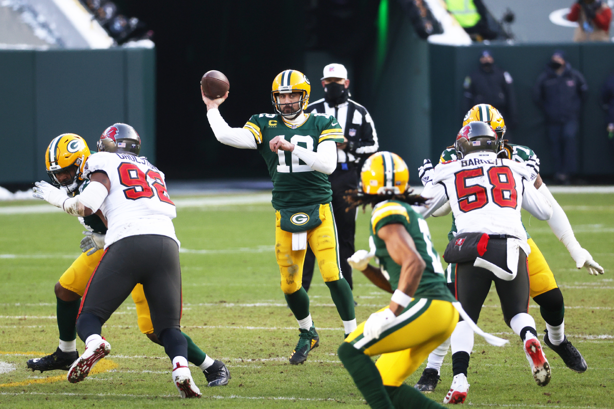 The Green Bay Packers Need to Give Grudge-Holding Aaron Rodgers a Dose of His Own Medicine