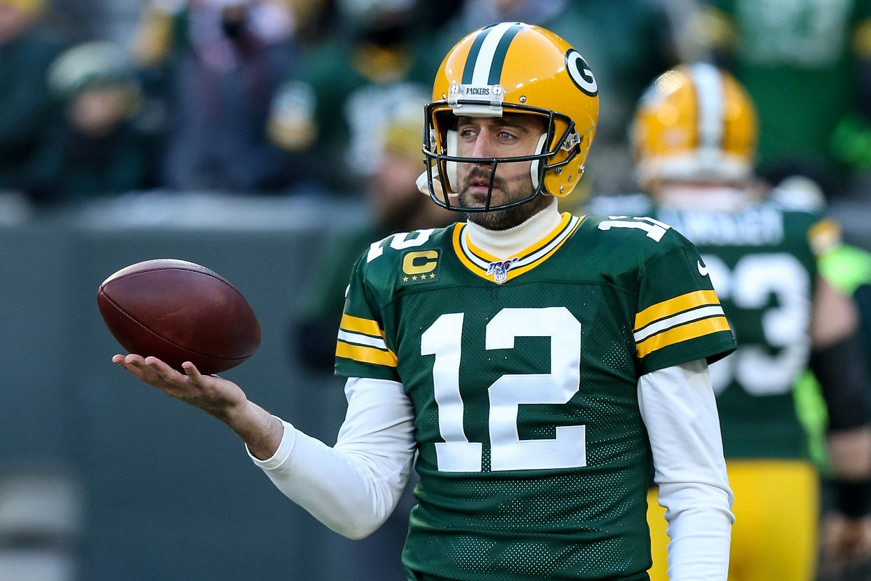 Aaron Rodgers Showing the Packers Yet Again That He Wants to Play Elsewhere
