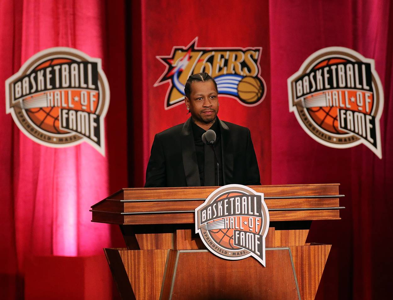 Allen Iverson Heartwarmingly Paid Homage to Michael Jordan in His Hall of Fame Speech: 'I Wanted to Be Like Mike'