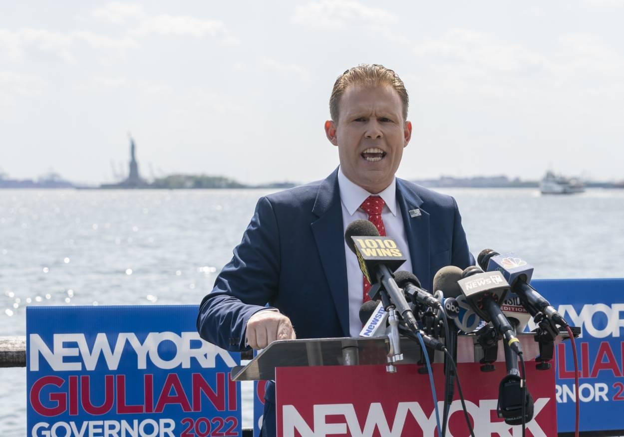 Andrew Giuliani, the son of former New York City mayor Rudy Giuliani, in May 2021.