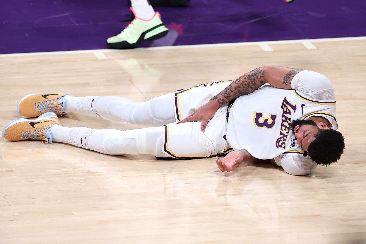 Anthony Davis' Injury May Sink the Lakers' NBA Title Hopes