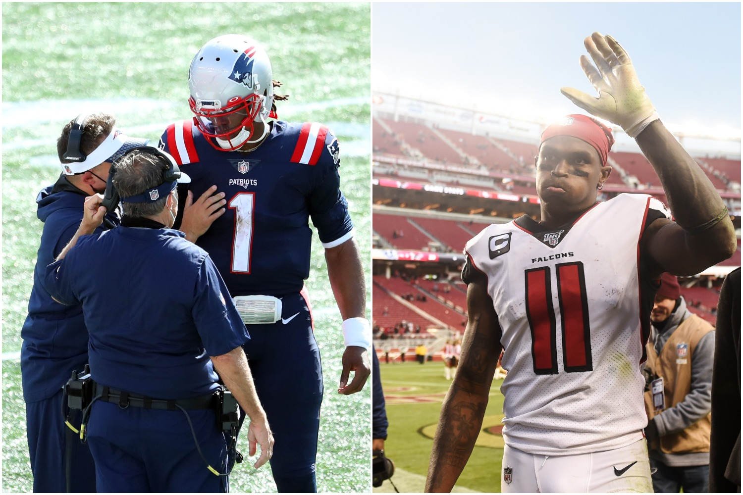 Bill Belichick and Cam Newton Should Be Ecstatic by the Latest Report on Julio Jones
