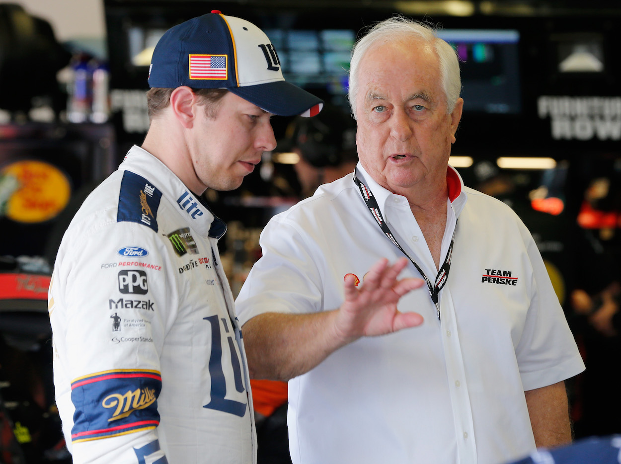 Brad Keselowski and His Future With Team Penske All but Decided Based on Latest Revealing Comments by Roger Penske
