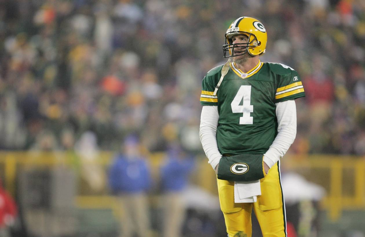 Brett Favre Threw an NFL-Record 336 Interceptions but Had a Simple Way to Avoid Stressing over Turnovers