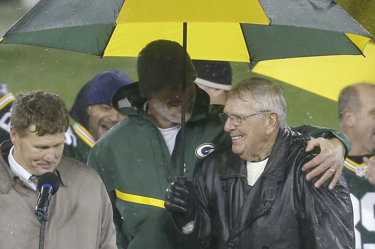 Brett Favre Owes All of His NFL Success to Packers General Manager Ron Wolf: 'He's Like a Grandfather to Me'