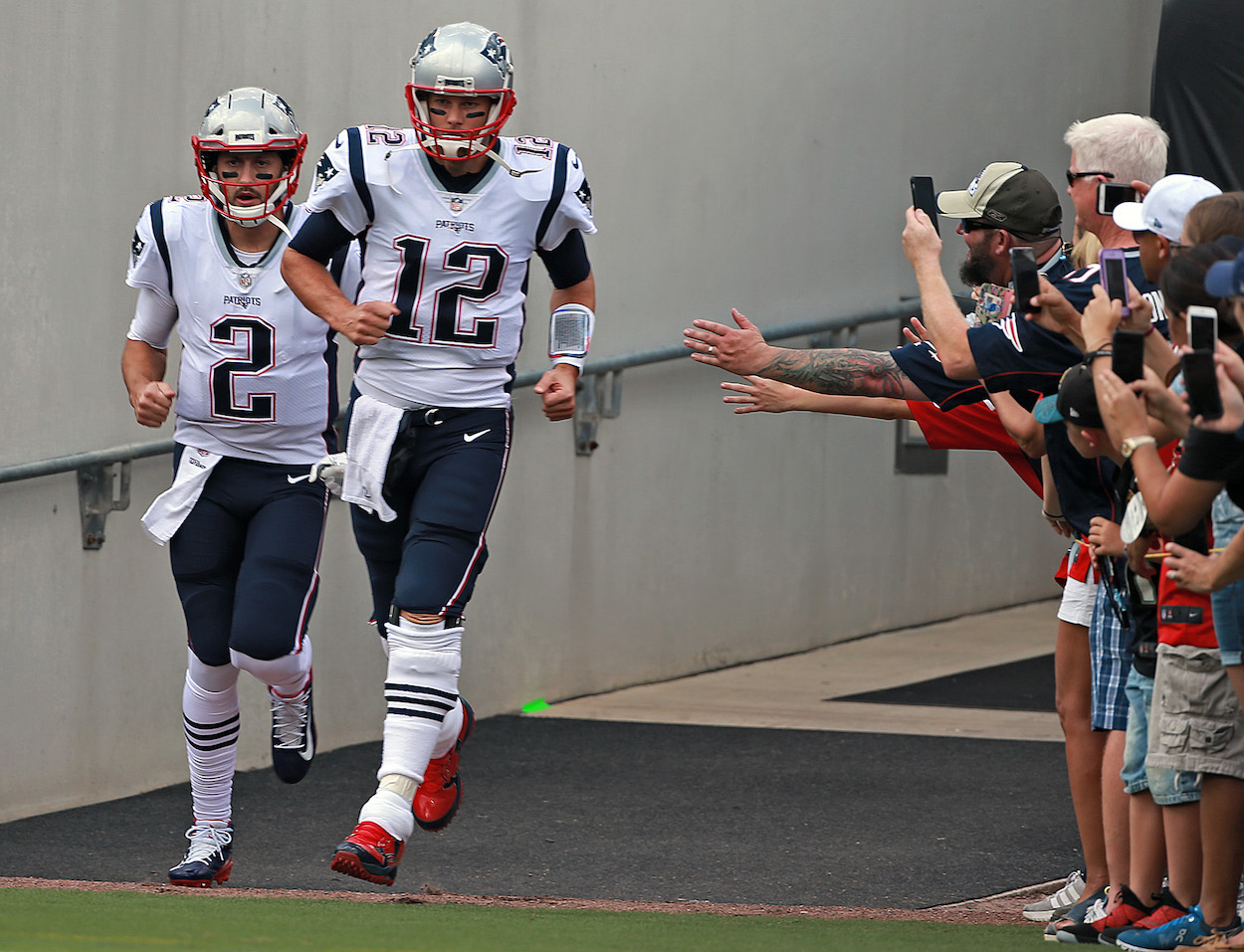 New England Patriots Add Another QB, Re-signing Tom Brady's Old Backup