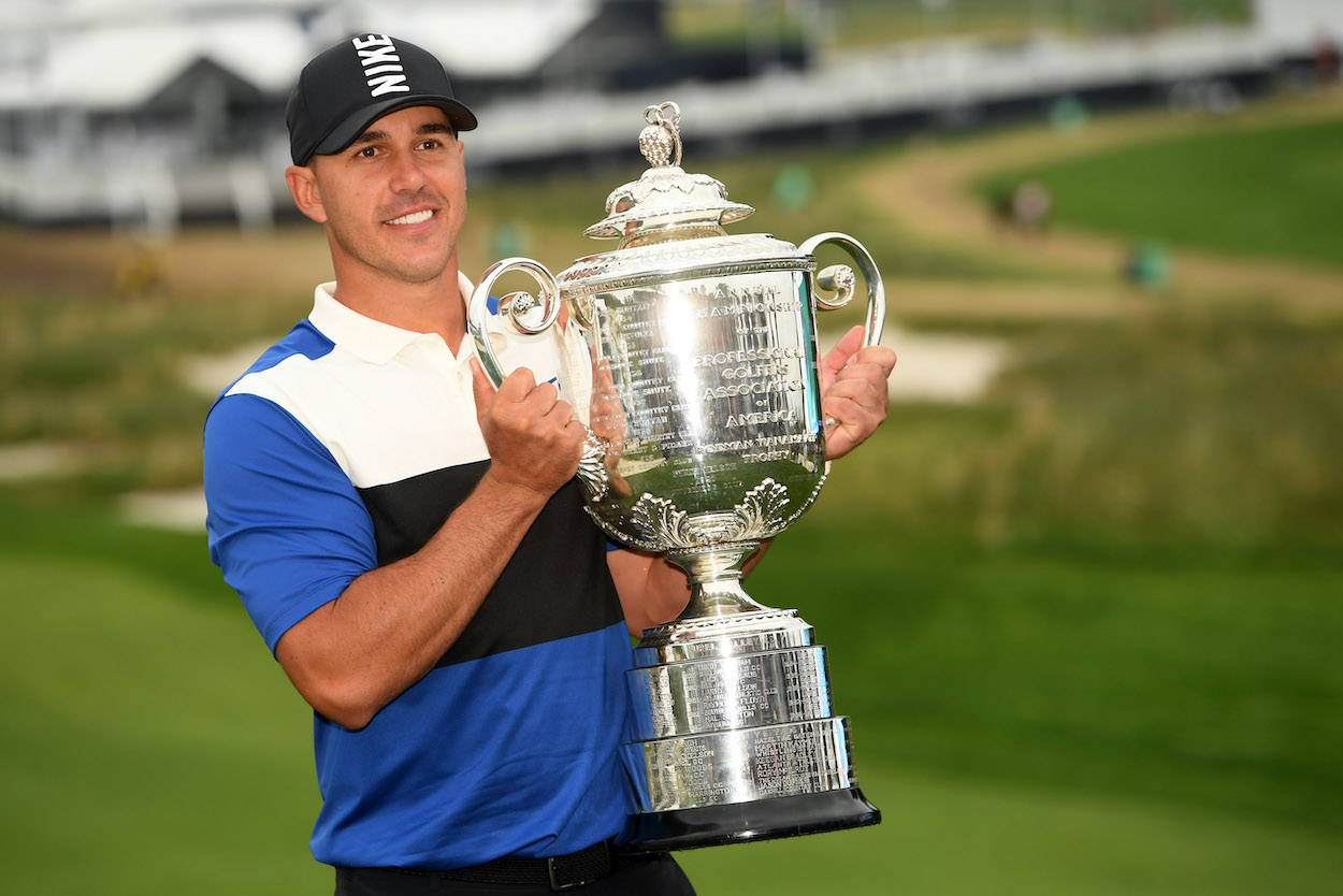 Brooks Koepka is different than anyone else on the PGA Tour. Instead of shying away from majors, he thinks they're the easiest to win.