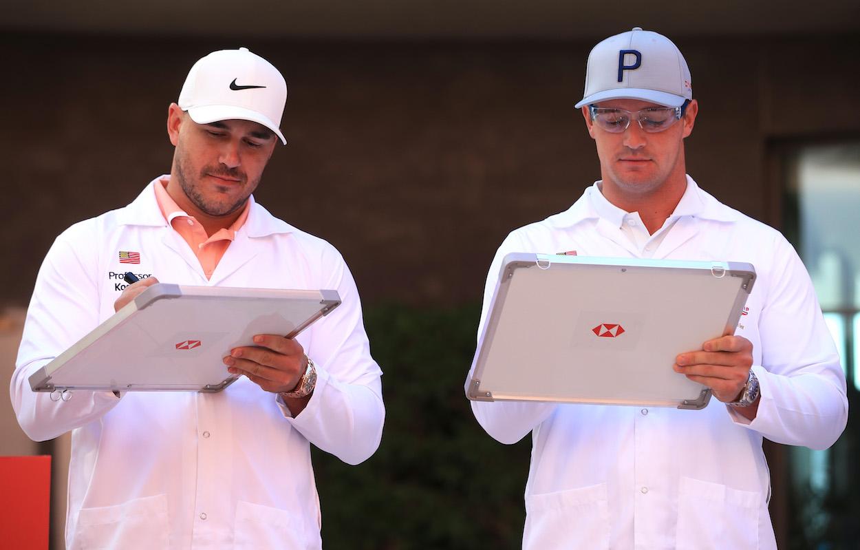 Bryson DeChambeau Isn't the First PGA Tour Star to Butt Heads With Brooks Koepka